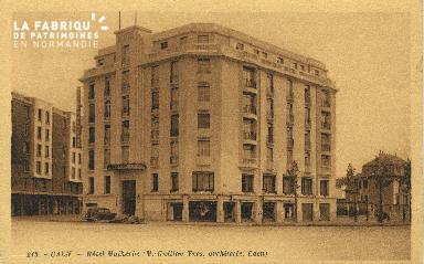 Cl 06 436 Caen-Hôtel Malherbe
