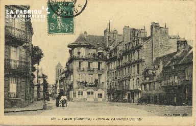 Cl 06 437 Caen-Place de l'ancienne comédie