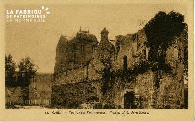Cl 06 439 Caen-Vestige des fortifications