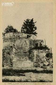 Cl 06 441 Caen-Vielle tour des anciennes fortifications