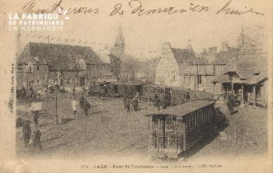 Cl 07 001 Caen - Pont de Courtonne - Les tramways du Calvados