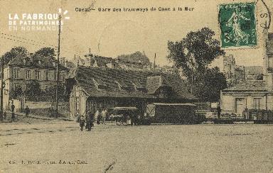 Cl 07 006 Caen - Gare des Tramways de Caen la mer