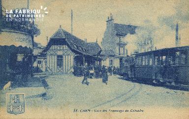 Cl 07 008 Caen - Gare des Tramways du Calvados