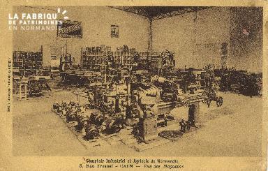 Cl 07 016 Caen - Comptoir Industriel et Agricoile de Normandie, 3 rue