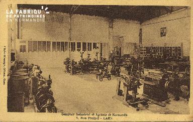 Cl 07 017 Caen - Comptoir Industriel et Agricoile de Normandie, 3 rue