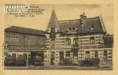 Cl 07 018 Caen  Etablissement GUYON- Distributeurs d'essence- Bruleurs