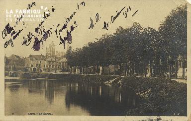 Cl 07 023 Caen - Le Canal