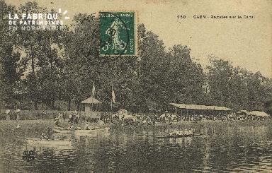 Cl 07 024 Caen - Régates sur le Canal