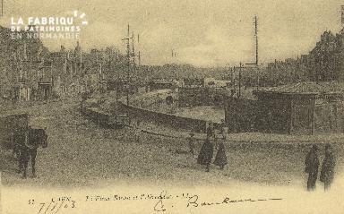 Cl 07 027 Caen - Le vieux Bassin et l'Abrevoir