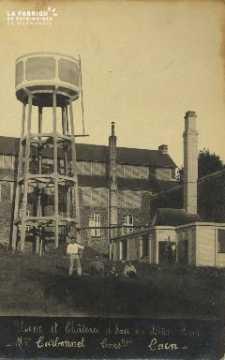 Cl 07 028 Caen - Usine et château d'eau en bêton armé- Monsieur Carbon