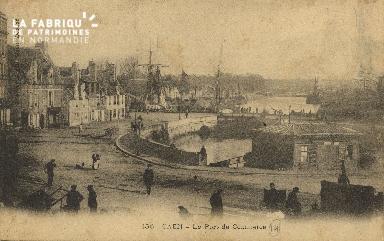 Cl 07 029 Caen - Le port de Commerce
