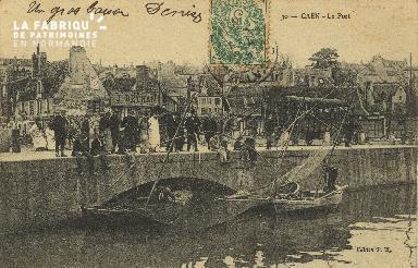 Cl 07 030 Caen - Le port