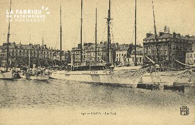 Cl 07 045 Caen - Le port
