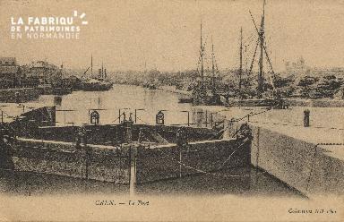 Cl 07 052 Caen - Le port