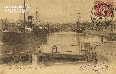 Cl 07 055 Caen - Le port