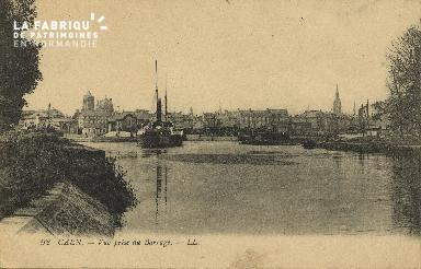 Cl 07 056 Caen - Vue prise du Barrage
