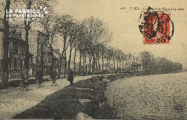 Cl 07 057 Caen - Le Canal de Caen à la Mer