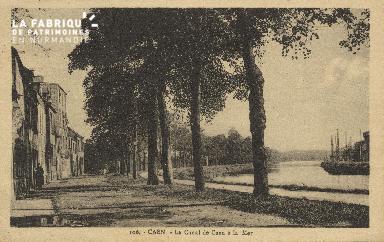 Cl 07 058 Caen - Le Canal de Caen à la Mer