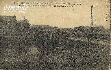 Cl 07 059 Caen - Le Canal de Caen à la Mer - Le pont d'Hérouville - Au
