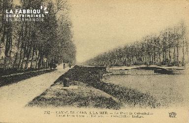 Cl 07 060 Caen - Le Canal de Caen à la Mer - Le pont de Colombelles