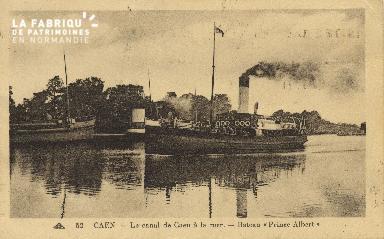 Cl 07 061 Caen - Le Canal de Caen à la Mer - Bateau de Caen à la Mer