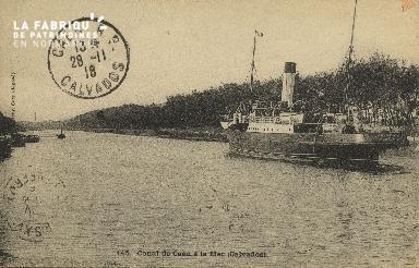 Cl 07 072 Caen - Canal de Caen à la Mer