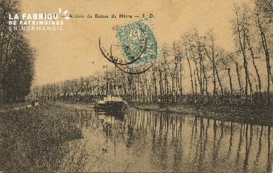 Cl 07 073 Caen - Arrivée du Bateau du Havre