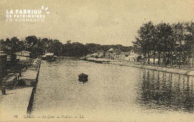 Cl 07 080 Caen - Quai de Juillet