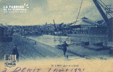 Cl 07 081 Caen - Quai de Juillet
