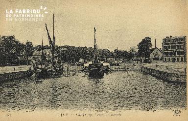 Cl 07 084 Caen - Entrée du Canal, Le Bassin