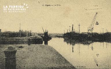 Cl 07 085 Caen - Le port