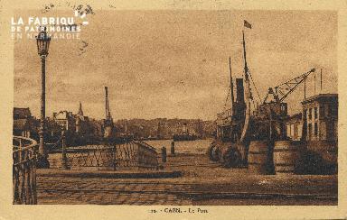 Cl 07 087 Caen - Le port