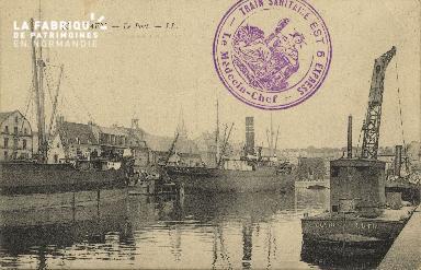 Cl 07 088 Caen - Le port