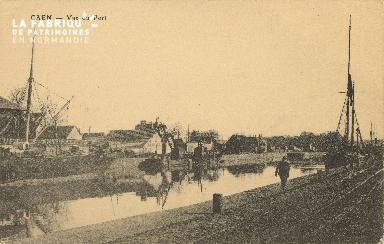 Cl 07 099 Caen - Vue du Port