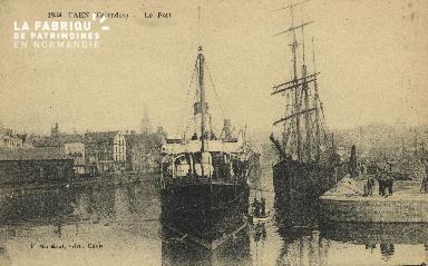 Cl 07 101 Caen - Le Port
