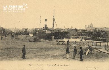 Cl 07 105 Caen - Vue générale du Bassin