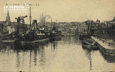 Cl 07 107 Caen - Le Port