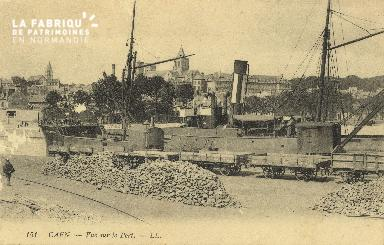 Cl 07 108 Caen - Vue sur le Port