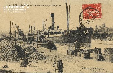 Cl 07 123 Caen - Une vue sur le Port, Le minirai