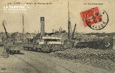 Cl 07 124 Caen - L'Arrivée de Minerais de fer