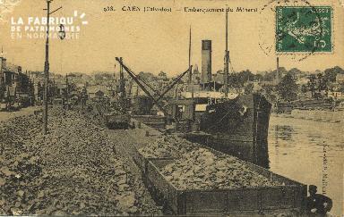 Cl 07 126 Caen - Embarquement du minerai