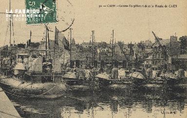 Cl 07 129 Caen -Contre-Torpilleurs dans le bassin de Caen