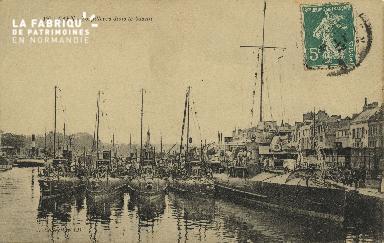 Cl 07 132 Caen - le Torpilleurs dans le Bassin