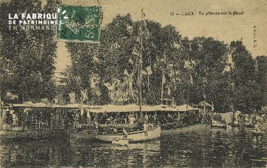 Cl 07 134 Caen - le Torpilleurs sur le Canal