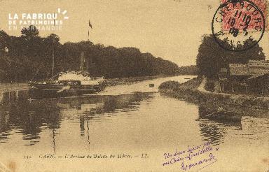 Cl 07 153 Caen - Arrivée du bateau du Havre