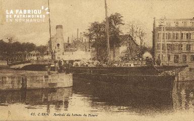 Cl 07 159 Caen - Arrivée du bateau du Havre