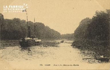 Cl 07 163 Caen - Départ du bateau du Havre
