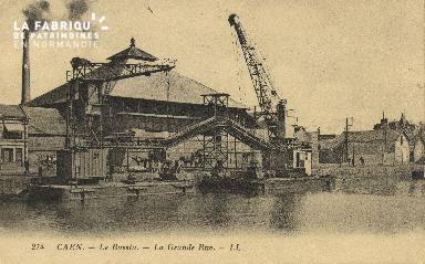 Cl 07 169 Caen - Le Bassin - La grande Rue