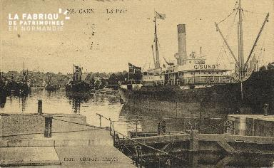 Cl 07 170 Caen - Le port