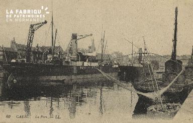 Cl 07 171 Caen - Le port